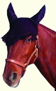 Imported Horse &Supply Crochet Fly Veil For Horses