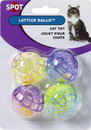 Ethical Lattice Balls With Bells - 4 Pack
