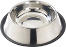 Ethical Stainless Steel No Tip Dog Dish - Stainless Steel - 64 Ounce
