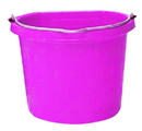 Fortex Flat Back Bucket - Pink - 20 Quart