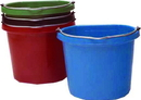 Fortex Flat Back Bucket - Red - 20 Quart