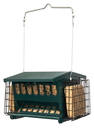 Heritage Mini Seeds  N More Bird Feeder - Green - 5.5 Lb Cap