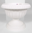 Novelty Grecian Urn Planter - White - 12 Inch
