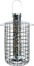 Droll Yankees Domed Cage Feeder Black / 20 Inch - B7Dc