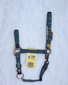 Hamilton Halter Adj. Chin W/Snap Hunter Green / Large - 1Das Lgdg