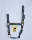 Hamilton Adjustable Chin Horse Halter With Snap - Hunter Green - Small