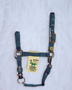Hamilton Adjustable Chin Horse Halter With Snap - Hunter Green - Yearling