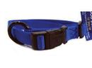 Hamilton Adjustable Dog Collar - Blue - 5/8  X 12-18