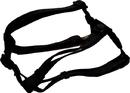 Hamilton Adjustable Dog Harness - Black - 1X30-40 Inch
