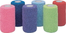 Andover Healthcare Powerflex Hand Tear Cohesive Bandage Display - Colorpack Asst - 4Inx5Yd/18Piece