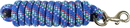 Hamilton Poly Lead With Bolt Snap - Confetti Blue - 10 Foot