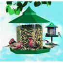 Woodstream Gazebo Wild Bird Feeder - Green - 2.25 Pound