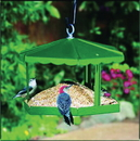 Homestead/Gardner Fly - Thru Gazebo Bird Feeder - Green - 12.75X15X11.5