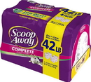 Clorox Scoop Away Multi-Cat Clumping Litter - 42 Pound