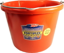 Fortex Economy Flat Back Bucket - Red - 20 Quart