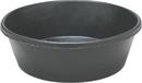 Fortex Rubber Stall Feeder - Black - 2 Quart