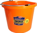 Fortex Flat Back Bucket - Orange - 20 Quart