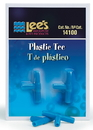 Lee S Aquarium & Pet Plastic Tee - 2 Pack