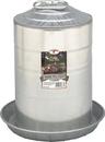 Miller Little Giant Double Wall Poultry Fount - Steel - 3 Gallon