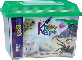 Lee S Aquarium & Pet Kritter Keeper, Small