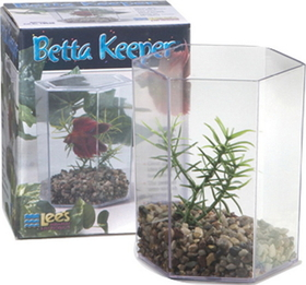 Lee S Aquarium & Pet Betta Keeper With Lid / Large - 19538