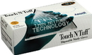 Ansell Edmont Touch N Tuff Disposable Nitrile Gloves - Teal - Large/100