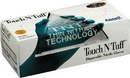 Ansell Edmont Touch N Tuff Disposable Nitrile Gloves - Teal - Extra Large/100