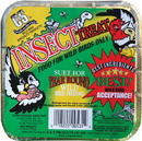 C & S Insect Suet Cake For Wild Birds - 11.75 Ounce