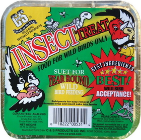 C And S Insect Suet Treat Insect / 11.75 Ounce - Cs12531