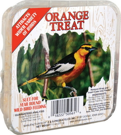 C And S Orange Treat Picture Label Suet Orange / 11.75 Ounce - 2450561