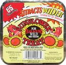 C & S Sunflower Suet Cake Treat For Wild Birds - 11 Ounce