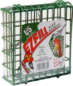 C And S Ez Fill Suet Basket Green / 5.5 Inch - 730