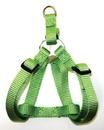 Hamilton Adjustable Easy On Harness - Lime Green - 3/4  X 20-30