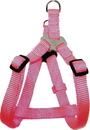 Hamilton Adjustable Easy On Harness - Hot Pink - 5/8  X 12-20