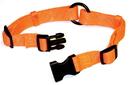 Hamilton Adjustable Saferit Dog Collar - Orange - 1  X 18-26