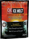 Milazzo Industries Qik Joe Ice Melter Pellets - White - 20 Pound Bag