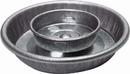 Miller Little Giant Galvanized Mason Jar Waterer Base - Steel - 1 Quart