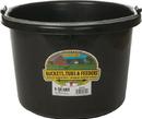 Miller Little Giant Plastic Bucket - Black - 8 Quart