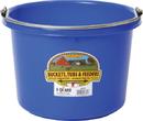 Miller Little Giant Plastic Bucket - Blue - 8 Quart