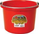 Miller Little Giant Plastic Bucket - Red - 8 Quart