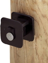 Dare Black Widow Insulator For Wood Post - Black - 25 Pack