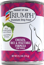 Triumph Pet-Sunshine Mill Triumph Can Food Chckn/Rice/Veg / 13.2 Ounce - 389