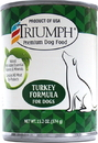 Triumph Pet-Sunshine Mill Canned Dog Food - Turkey - 13.2 Ounce
