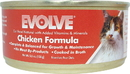 Triumph Pet-Sunshine Mill Evolve Canned Cat Food - Chicken - 5.5 Ounce