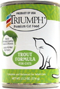 Triumph Pet-Sunshine Mill Canned Cat Food - Trout - 13 Ounce