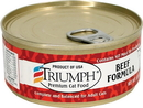 Triumph Pet-Sunshine Mill Canned Cat Food - Beef - 5.5 Ounce