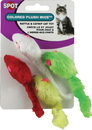 Ethical Plush Mice - Assorted - 4 Pack