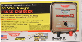 Parker Mccroy Fencer 12 Volt Brown / 30 Mile - Mag12Uo