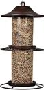 Woodstream Panorama Wild Bird Feeder - Rustic Brown - 4.5 Pound