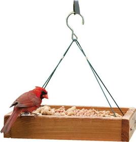 Audubon/Woodlink Hanging Platform Feeder Tan / 13 X 13 X 2.5 - Naplat2
